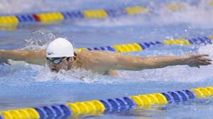 Phelps finds the positives in his last event before the Olympic trials