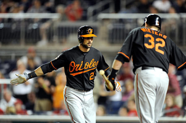 Looking at the Orioles Opening Day lineup, there isn't a single player, save for second baseman Robert Andino (sorry, Dino), who doesn't have the potential to hit at least 20 home runs. With 65 bombs, the Orioles lead major league baseball in home runs. Yes, even over Josh Hamilton and the Rangers.