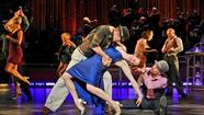 "It's all the rage these days: live, professional musicians and dancers backing pre-recorded vocals by inimitable performers combined with dazzling staging in high-concept theatrical productions. (No, it's not quite holographic Tupac Shakur, but close.) In <em>Come Fly Away, </em>the new Broadway musical at the Bushnell this week, Frank Sinatra's legendary voice gets paired with choreography by Tony Award-winner Twyla Tharp for a visceral, unique experience, complete with on-stage big band and professional high-stepping. ""Fly Me To The Moon,"" ""My Way,"" ""New York, New York,"" ""Witchcraft"": all classic performances by Ol' Blue Eyes that'll outlive us all. Check it out."