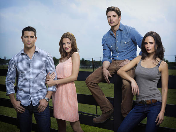 ) Television's longest cliffhanger ends with the return, after 21 years, of this seminal prime-time soap. Larry Hagman, Patrick Duffy and Linda Gray are back as J.R., Bobby and Sue Ellen; Josh Henderson and Jesse Metcalfe are formerly little Ewings, grown big.