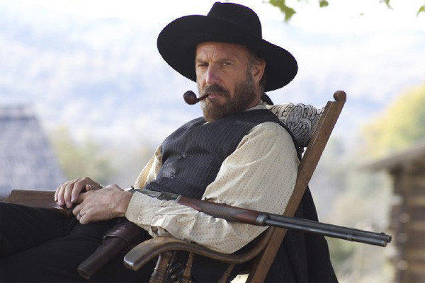 "Kevin Costner plays Devil Anse Hatfield in ""Hatfields and McCoys."""