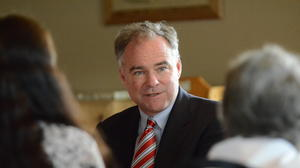 Kaine sits down with women voters during visit to Roanoke County