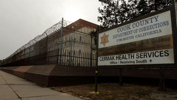 The Cook County Jail in 2010.