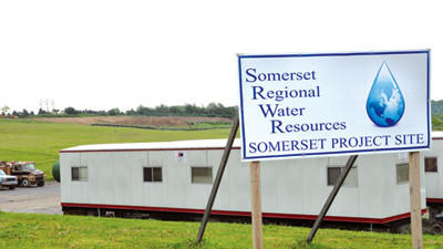 A wastewater treatment plant is in the works in Somerset Township.