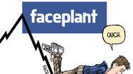 Facebook's Mark Zuckerberg faces the perils of Wall Street