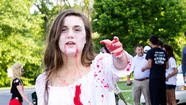 Underclassmen arriving at East Jessamine High School last Thursday found quite the surprise: Their school had been taken over by zombies, and the zombies were their senior classmates.