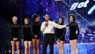 """America's Got Talent"" is in New York for a second night. Howard Stern brought his parents along. They look like a sweet old couple, but according to Howard, they've been complaining about waiting in the auditorium for the past two hours."