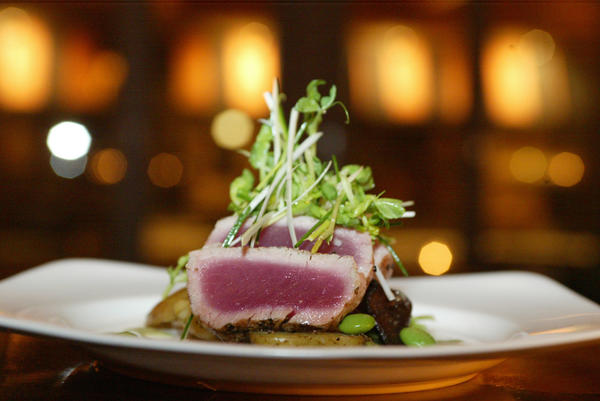 A tuna dish at Boka in Lincoln Park