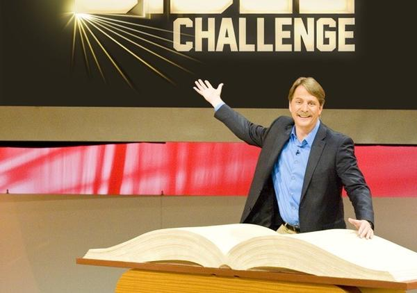 "Jeff Foxworthy will host ""American Bible Challenge"" on GSN."