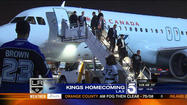 Fans Celebrate Kings' Return To Stanley Cup Finals - Eric Spillman reports