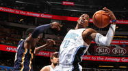 Orlando Magic center Dwight Howard on Wednesday was named to the NBA all-defensive first team for the fourth consecutive season.