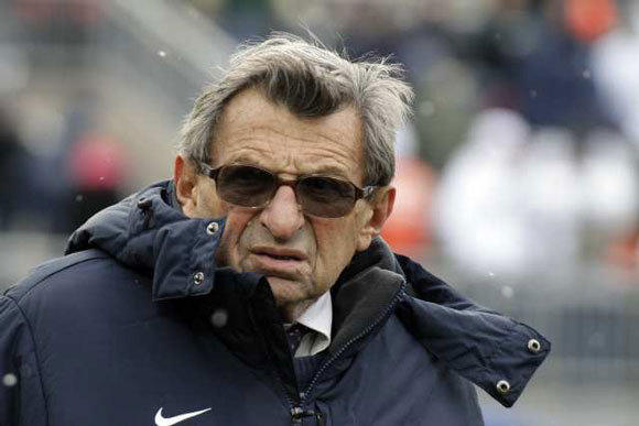 Joe Paterno died in January after a 61-year career at Penn State.