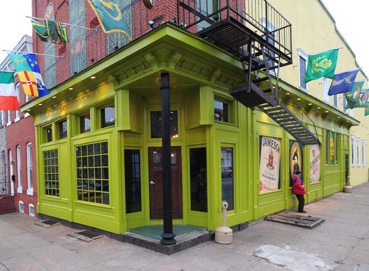 "1439 S. Charles St., 410-685-8277<br> <br> One of the newest Irish bars in Baltimore, <a href=""http://findlocal.baltimoresun.com/listings/delia-foleys-baltimore"">Delia Foley's</A> is also one of the biggest, with attractions like 16 beers on draft, a menu of contemporary Irish food and 30 different varieties of wings, always 49 cents each, every day."