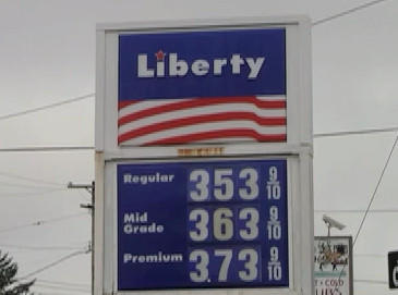 The Liberty station at the intersection of Nottingham Road and West Washington Street had the cheapest regular grade gas among the stations the Herald-Mail visited Wednesday.
