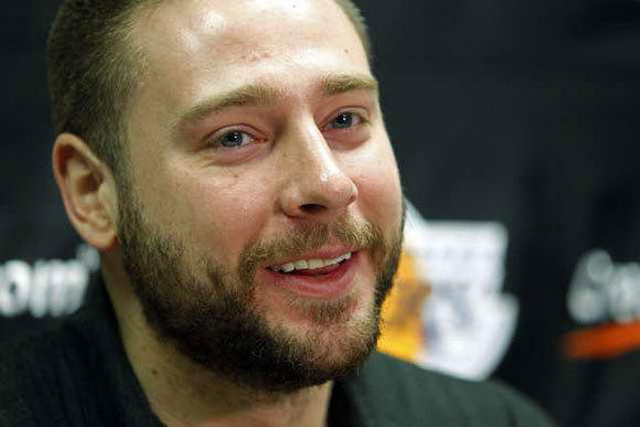 Josh McRoberts averaged 2.8 points and 3.4 rebounds in 14.4 minutes a game in his first season with the Lakers.