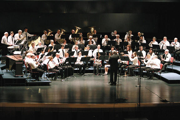 Cumberland Valley School of Music Community Symphonic Band will present a Memorial Day concert at 7:30 p.m. Monday.