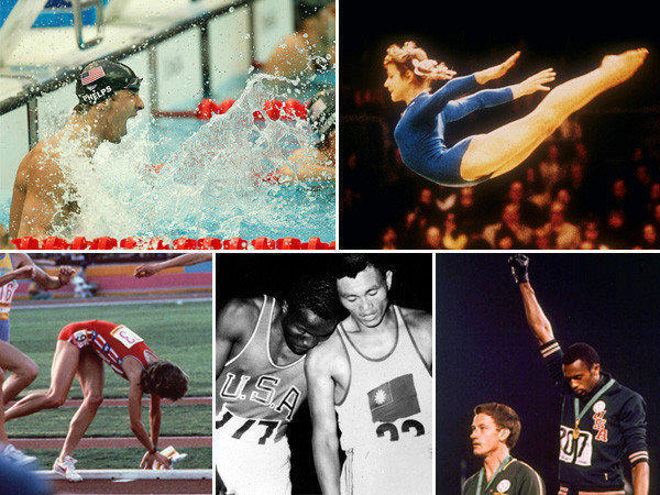 Olympic Games TV moments worth remembering: The first Olympics broadcast on a regular, extensive basis on TV were the 1960 Winter Olympics in Squaw Valley, Calif. CBS paid all of $50,000 for the rights, and newsman Walter Cronkite anchored the coverage. Many of the Games had singular TV moments -- outstanding athletic feats and also social landmarks. Here are a few.