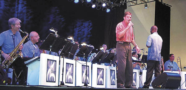 Shades of Blue Orchestra plays big band-style music associated with entertainers such as Frank Sinatra, Tommy Dorsey, Count Basie and Artie Shaw. The band will open the Pen Mar Park concert season with a show Sunday, May 27.