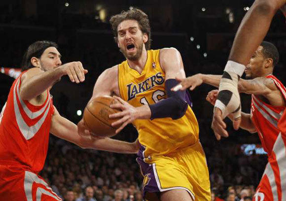 Pau Gasol isn't clear on his future with the Lakers.