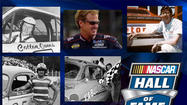 Sprint Cup champion Rusty Wallace heads the group of five picked for the NASCAR Hall of Fame on Wednesday.