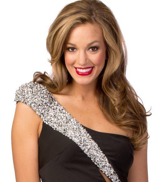 Miss USA 2012: Evening gown pics: Andrea Rogers, Miss West Virginia