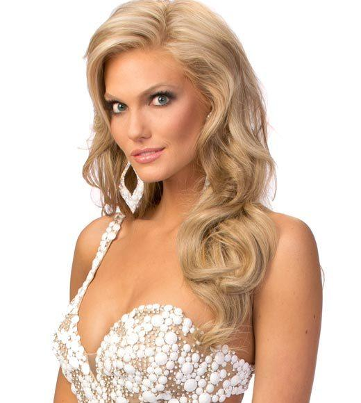 Miss USA 2012: Evening gown pics: Brittany Lynn Booker, Miss Texas
