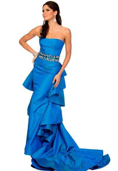Miss USA 2012: Evening gown pics: Johanna Sambucini, Miss New York