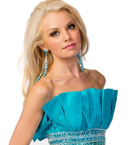 Miss USA 2012: Evening gown pics: Jaci Stofferahn, Miss North Dakota