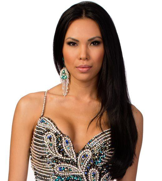 Miss USA 2012: Evening gown pics: Nitaya Panemalaythong, Miss Minnesota