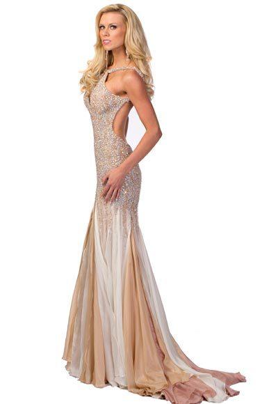 Miss USA 2012: Evening gown pics: Katie Kearney, Miss Missouri