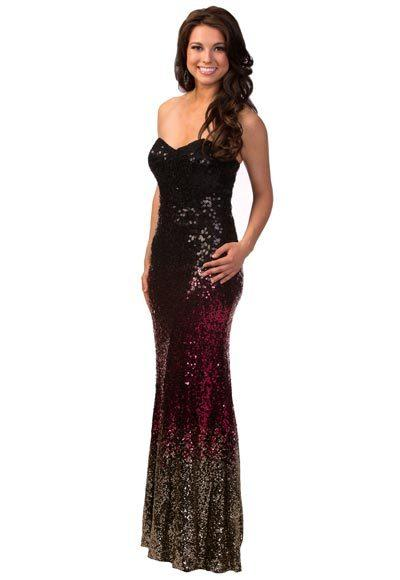 Miss USA 2012: Evening gown pics: Amy Spilker, Miss Nebraska