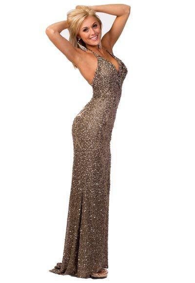 Miss USA 2012: Evening gown pics: Rebecca Hodge, Miss Iowa