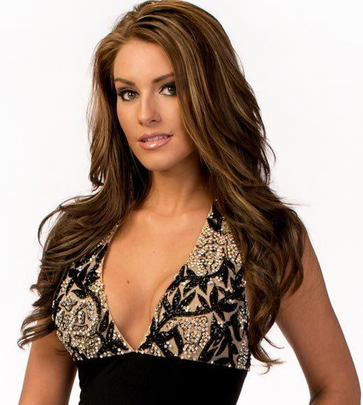 Miss USA 2012: Evening gown pics: Krista Clausen, Miss Delaware