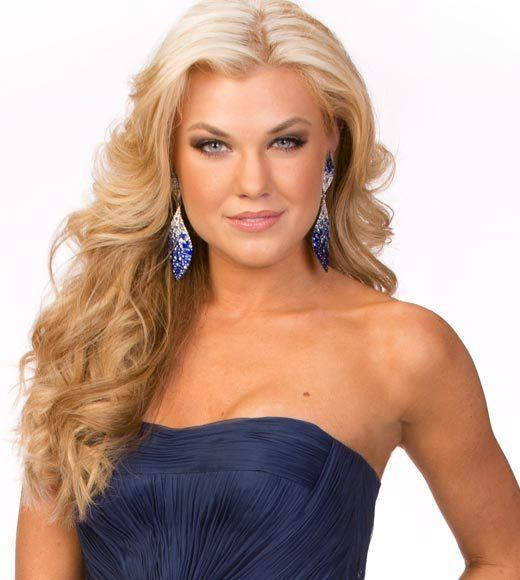 Miss USA 2012: Evening gown pics: Erika Lane Frantzve, Miss Arizona