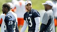 I would like to report a happy story about Johnny Knox, but I really can't.