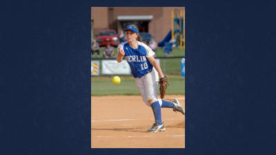 Berlin pitcher Megan DeMartino recorded another win for the Lady Mountaineers on Wednesday.