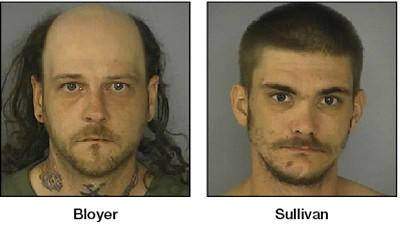 Steven Duane Bloyer Jr. and Charles Arthur Sullivan