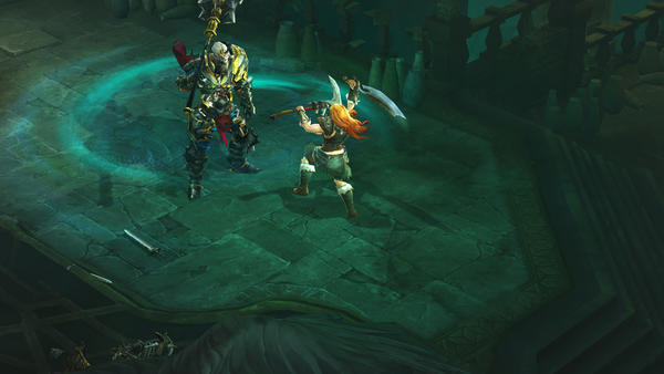 "Incessant mouse-clicking is the name of the game in ""Diablo III."""