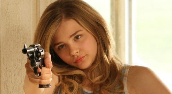 "<b>R; 1:35 running time</b><br><br> As a movie-obsessed 13-year-old who runs away from her barfly parents, Chloe Grace Moretz's character finds herself batted between a slightly older grifter-drifter (Blake Lively) and a reckless cowboy (Eddie Redmayne). With its fairy-tale tinge, the film has neither the fever-dream discomfort of ""Wild at Heart"" nor the satirical oomph of ""Lolita."" Much of ""Hick"" feels poorly thought out. <br><Br>Read the full< a href=http://www.chicagotribune.com/entertainment/movies/sc-mov-0522-hick-20120524,0,1388819.story>""Hick"" movie review</a>"