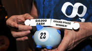 The Seminole Hard Rock Hotel & Casino wrapped up its Rockin' Penny Challenge on Wednesday, giving away $10,000 to an unnamed slot player.