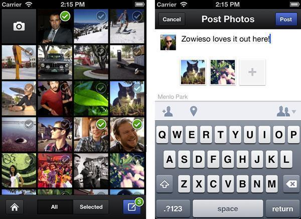 Facebook launched its fourth iOS app Thursday, called Facebook Camera.