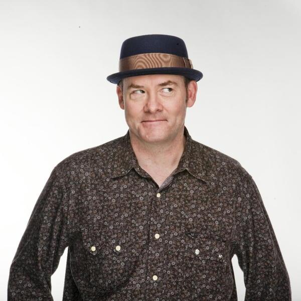 Comedian David Koechner in the Tribune photo studio