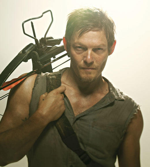 Channel Guide Magazine's 18 TV Stars You Should Know By Name: (Daryl Dixon from The Walking Dead) Thanks to Reedus deft portrayal, Double D -- once the scariest member of Ricks ragtag clan of survivors -- is quickly becoming its foulmouthed moral center on a killer ape-hangered 71 Triumph. Hes well on his way to becoming a household name, especially with his devout following of fans -- check them out at dixonsvixens.com