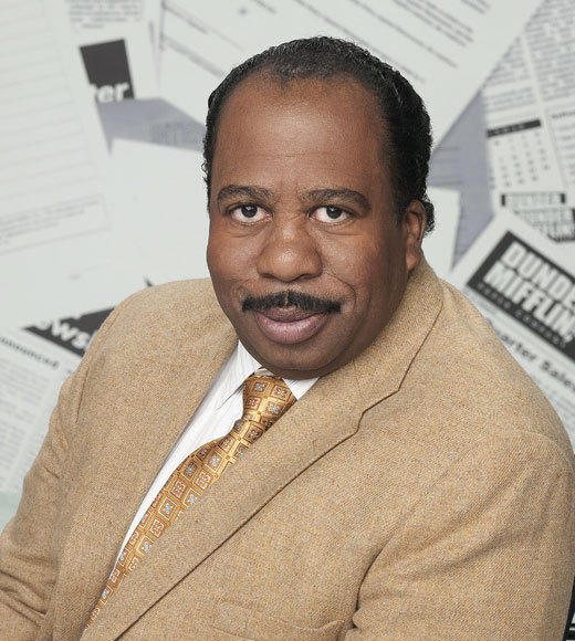 Channel Guide Magazine's 18 TV Stars You Should Know By Name: (Stanley Hudson from The Office) Show us another character actor who can be funny simply by doing a crossword puzzle in the back of a staff meeting. Now give the guy a Hangover-type role and well see how many people remember his name.