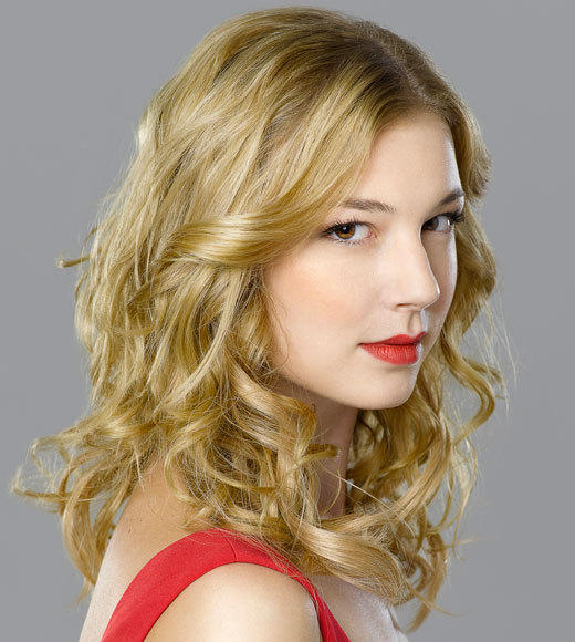 Channel Guide Magazine's 18 TV Stars You Should Know By Name: (Emily Thorne from Revenge) The former Brothers & Sisters star (she played Rebecca) headlined one of the hottest soap-style dramas of the year. Shes more twisted and evil, yet oddly likable, than Joan Collins Alexis Carrington Colby of Dynasty days.