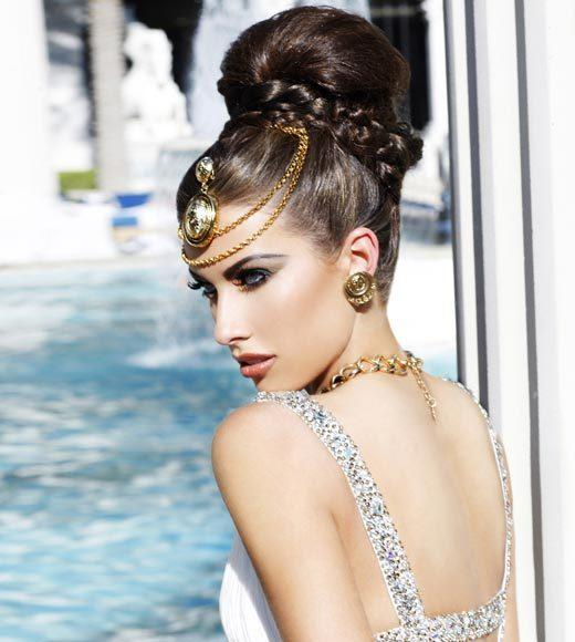 Miss USA 2012: 'Garden of Goddesses' fashion shoot at Caesar's Palace in Las Vegas, NV: Katherine Webb, Miss Alabama