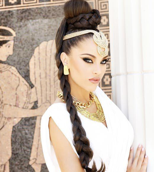 Miss USA 2012: 'Garden of Goddesses' fashion shoot at Caesar's Palace in Las Vegas, NV: Jessica Renee Martin, Miss New Mexico