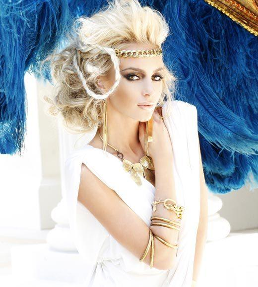 Miss USA 2012: 'Garden of Goddesses' fashion shoot at Caesar's Palace in Las Vegas, NV: Catherine Ashley Muldoon, Miss Virginia