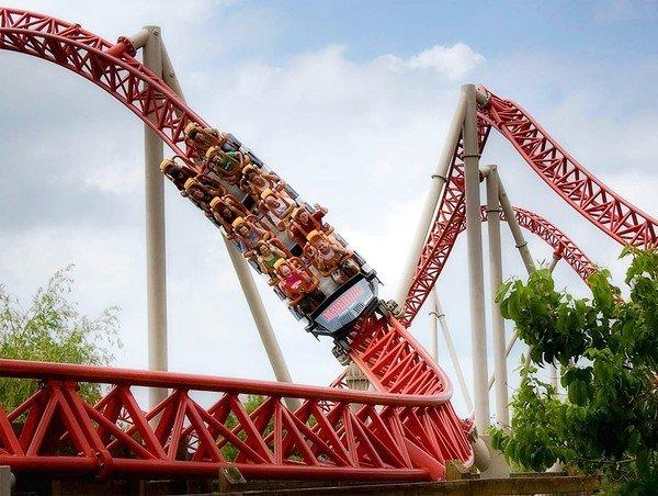 "Roller coasters in the ""Coaster Belt"" of the U.S."