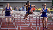 Ashley Williams' injured left groin kept her from competing in the Colonial League meet a couple of weeks ago.